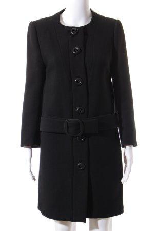 Prada Mantel schwarz Elegant