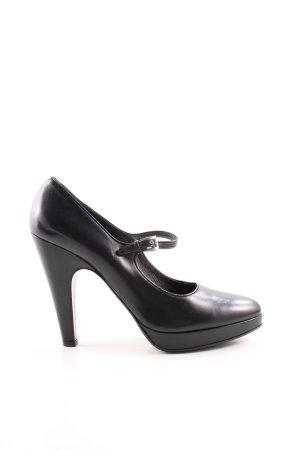 Prada Tacones Mary Jane negro estilo «business»