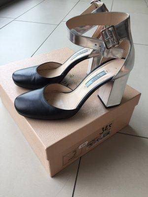 Prada Décolleté Mary Jane nero-argento