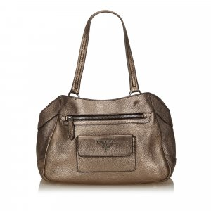 Prada Metallic Vitello Daino Bag