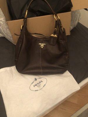 Prada Milano Luxus Handtasche in nocciolo