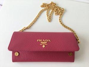 Prada Milano wallet pink neu