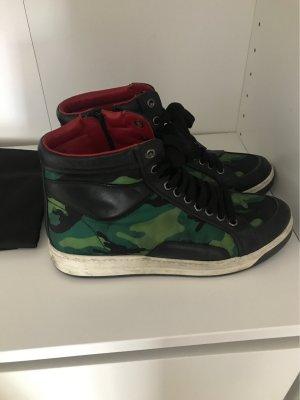 Prada military sneakers