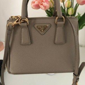 Prada Handbag grey brown-camel