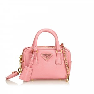 Prada Satchel pink leather