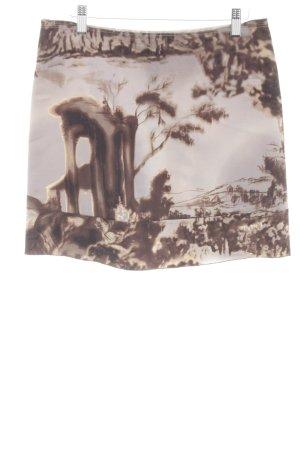 Prada Mini-jupe motif abstrait style décontracté