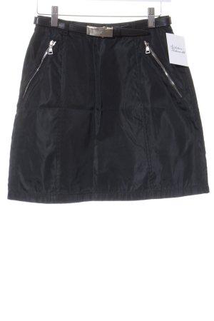 Prada Minifalda negro