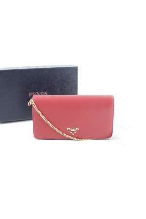 "Prada Mini sac ""Cellphone Sleeve Saffiano Fuoco"""