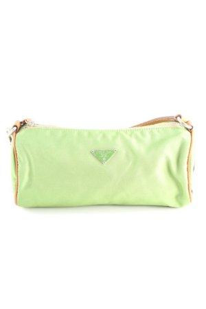 Prada Minitasche hellbraun-grün extravaganter Stil