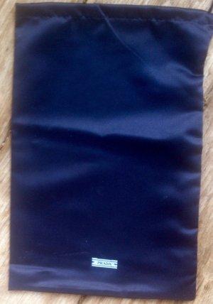 Prada - neu dustbag f. Schuhe, schwarz Satin