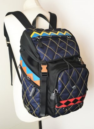 Prada Backpack multicolored synthetic