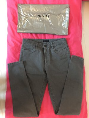 Prada NEUE skinny Jeans in grau