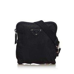 Prada Buiktas zwart Nylon