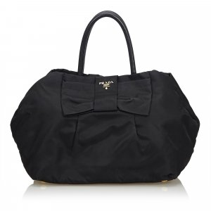 Prada Nylon Bow Handbag