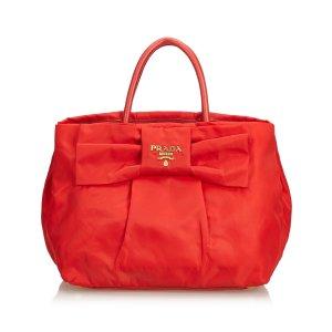 Prada Nylon Bow Handbag