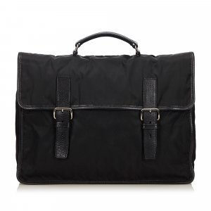 Prada Bolso business negro Nailon