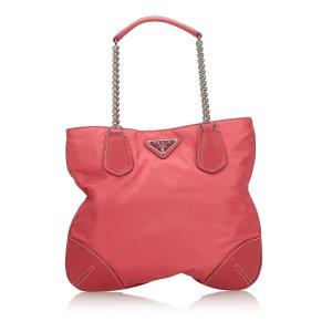 Prada Nylon Chain Handbag