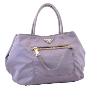 Prada Handbag violet cotton
