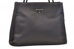 Prada Handbag black cotton