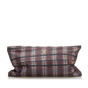 Prada Nylon Clutch Bag