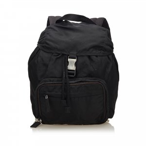 Prada Backpack dark brown nylon