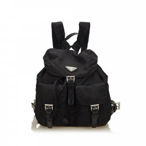 Prada Backpack black nylon