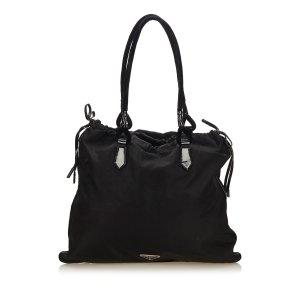 Prada Nylon Drawstring Shoulder Bag