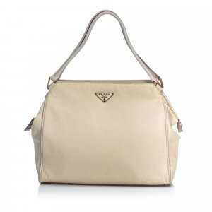 Prada Bolso blanco Nailon