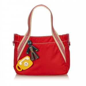 Prada Handbag red nylon
