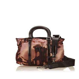 Prada Handbag brown nylon