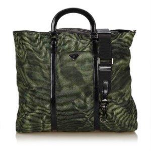 Prada Handbag green nylon