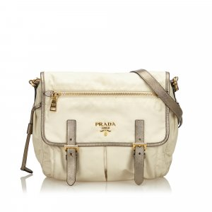 Prada Shoulder Bag white nylon