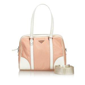 Prada Satchel pink nylon