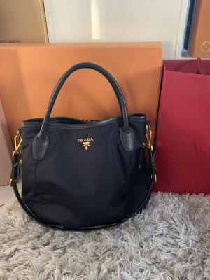 Prada Shoulder Bag dark blue