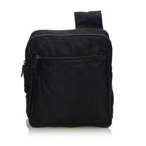 Prada Sac à dos noir nylon