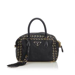 Prada Nylon Tassel Handbag