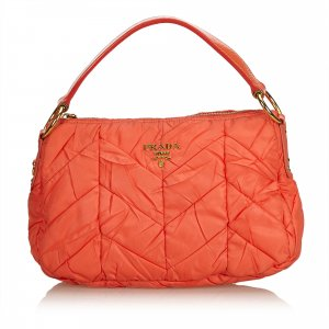 Prada Handbag orange nylon