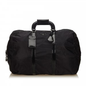 Prada Nylon Tessuto Duffle Bag