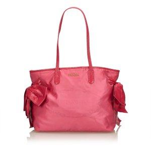 Prada Tote pink nylon