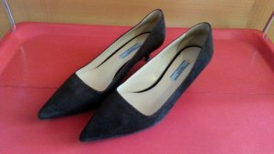 PRADA Original Pumps Wildleder rehbraun  Gr. 39