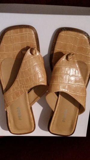 Prada Mules gold-colored