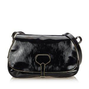 Prada Bolsa de hombro negro Imitación de cuero