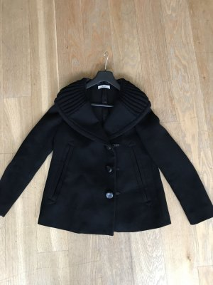 Prada Pea Jacket black