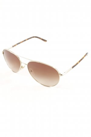 Prada Aviator Glasses gold-colored-brown classic style