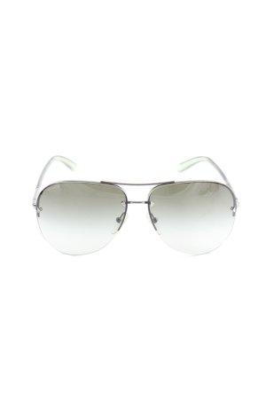 Prada Pilot Brille mehrfarbig Vintage-Look
