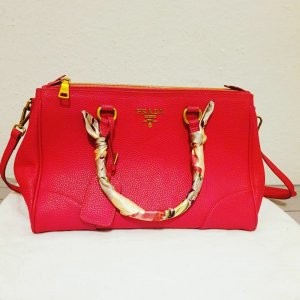 Prada Pink Leather Handbag