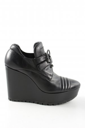 Prada Platform Booties black party style