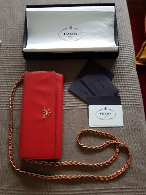 Prada Pochette gold-colored-red