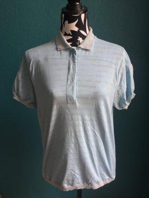 Prada Polo Shirt Damen Hellblau