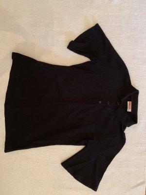 Prada Camiseta tipo polo negro Algodón